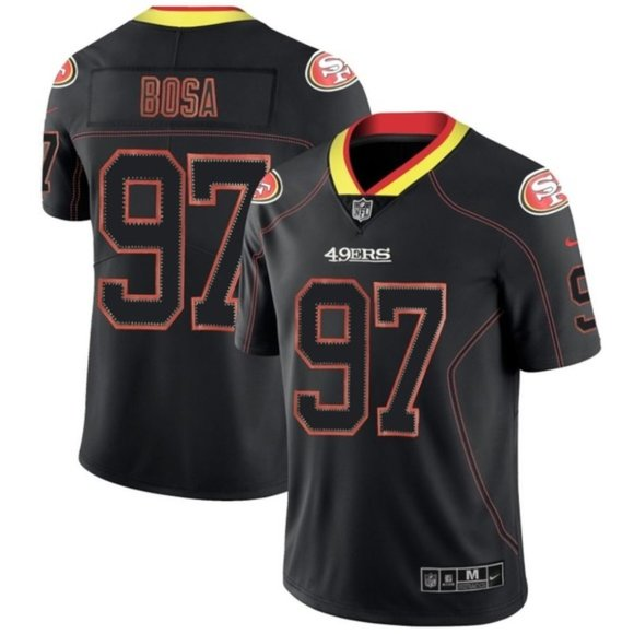 NFL Other - San Francisco 49ers Nick Bosa Lights Out Jersey